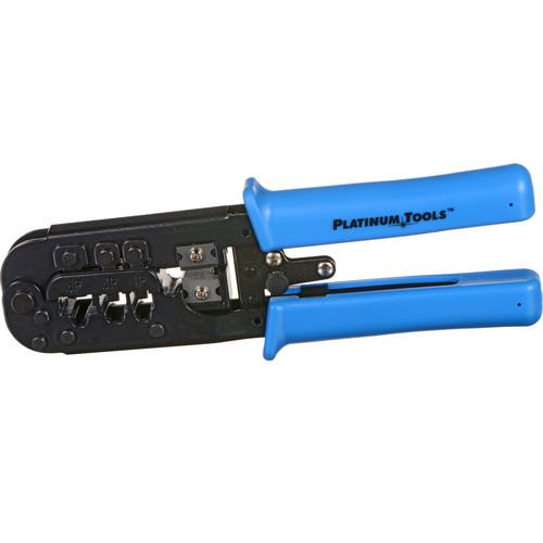 Platinum Tools 12503C All-In-One Modular Plug Crimp Tool