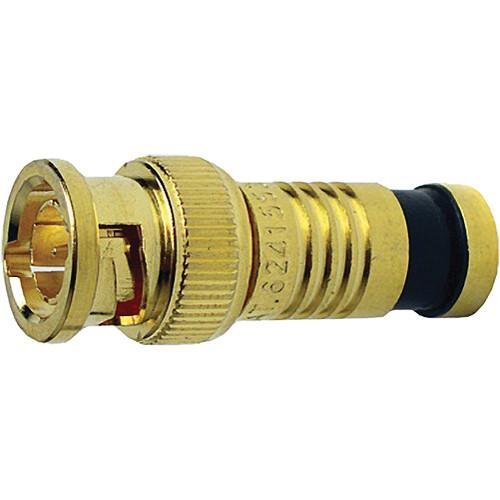 Platinum Tools BNC-Type Gold SealSmart Coaxial RG6 Quad Connector