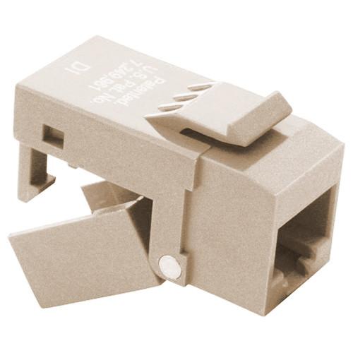 Platinum Tools EZ-SnapJack- Cat6 Almond