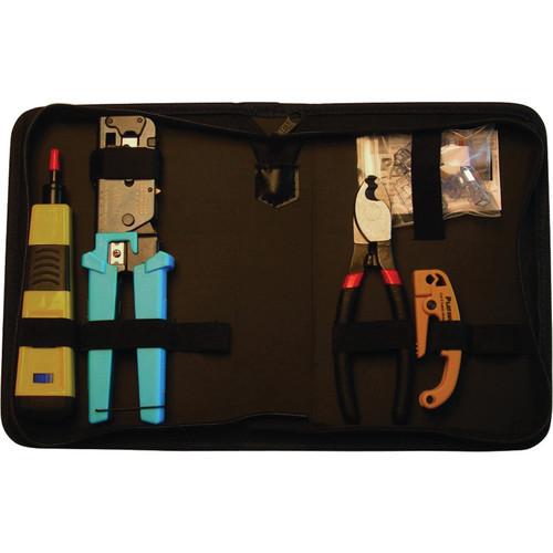 Platinum Tools 90122 Basic Twisted Pair and Coax Kit