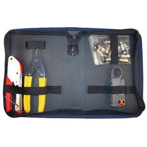 Platinum Tools 90135 Basic Coax F Compression Kit