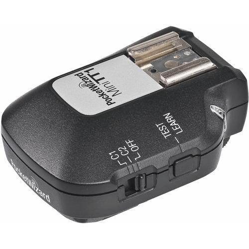 PocketWizard MiniTT1 Radio Slave Transmitter for Canon E-TTL & E-TTL II Systems