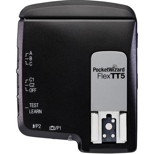 PocketWizard FlexTT5 Transceiver Radio Slave for Nikon i-TTL Flash System