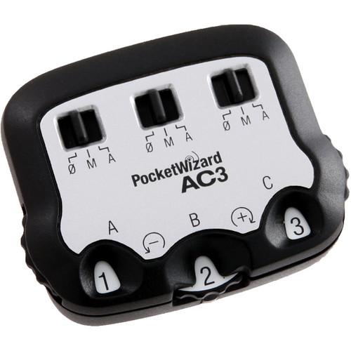 PocketWizard AC3 ZoneController for Nikon