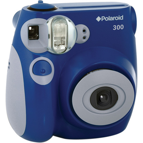 Polaroid 300 Instant Film Camera with Instant Film Kit (Blue)