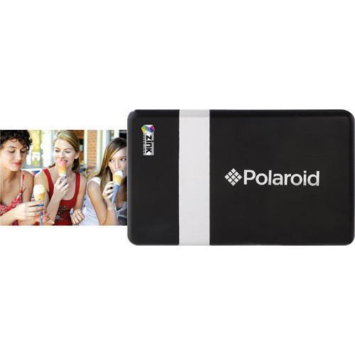 Polaroid CZA-10011 POGO Instant Mobile Printer (Black/Silver)