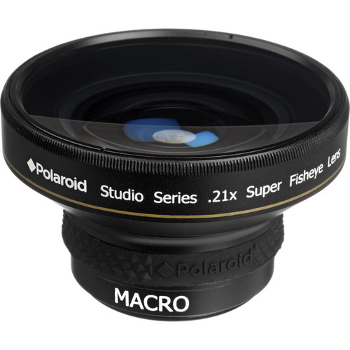 Polaroid Studio Series 37mm 0.21x HD Super Fisheye Lens