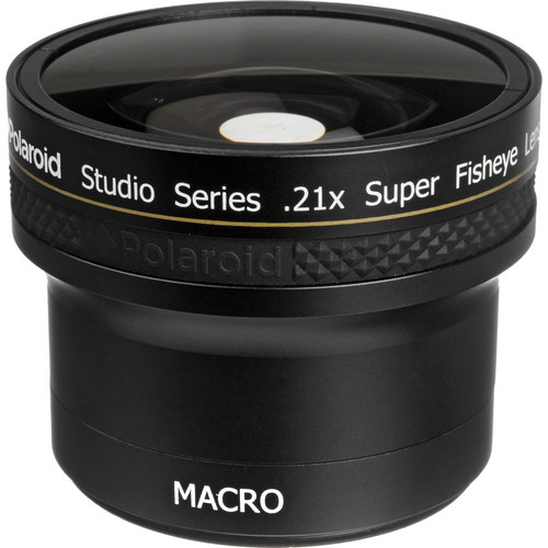 Polaroid Studio Series 52/58mm 0.21x HD Super Fisheye Lens