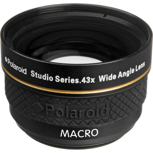 Polaroid Studio Series 37mm 0.43x HD Wide Angle Lens