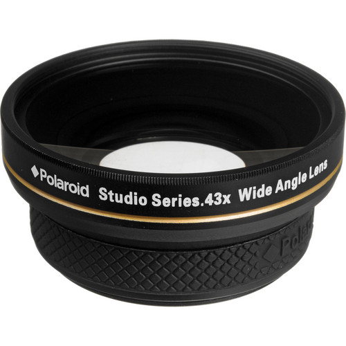 Polaroid Studio Series 52mm 0.43x HD Wide Angle Lens