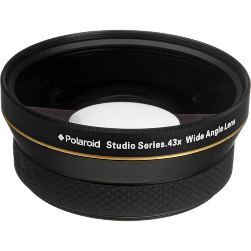 Polaroid Studio Series 72mm 0.43x HD Wide Angle Lens