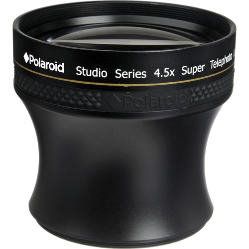 Polaroid Studio Series 52/58mm 4.5x HD Super Telephoto Lens