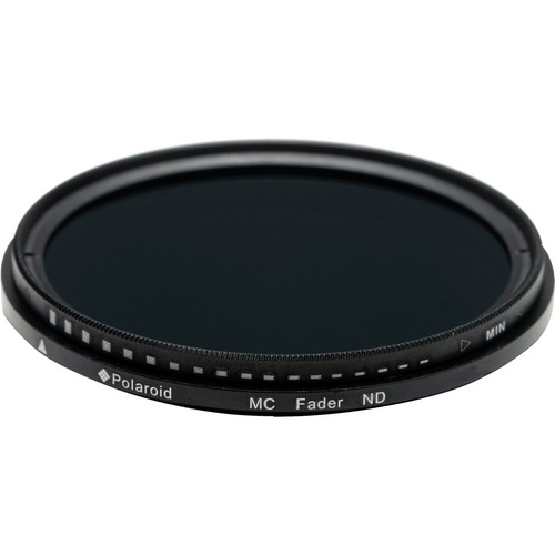 Polaroid 62mm Neutral Density Fader Filter