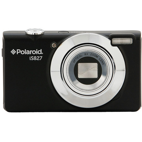 Polaroid iS827 Digital Camera (Black)