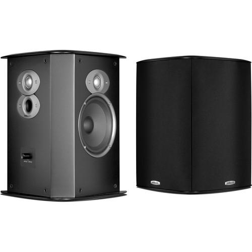 Polk Audio FXi A6 Bipole/Dipole Surround Speakers (Black, Pair)