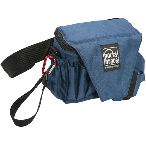 Porta Brace ACB-3 Assistant Camera Pouch with Belt (Large, Signature Blue)