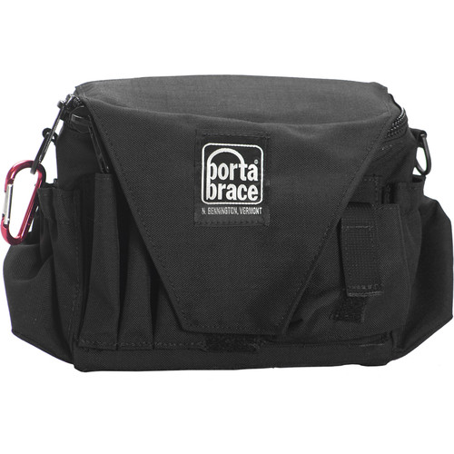 Porta Brace AC-3 Assistant Camera Pouch with Shoulder Strap (Large, Midnight Black)