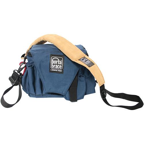 Porta Brace AC-3 Assistant Camera Pouch with Shoulder Strap (Large, Signature Blue)