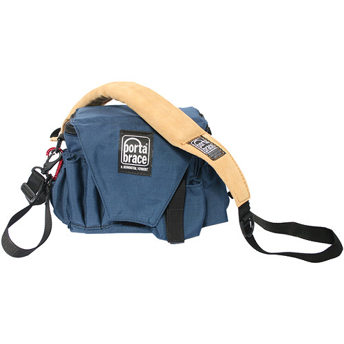 Porta Brace AC-3 Assistant Camera Pouch with Shoulder Strap (Large, Signature Blue)