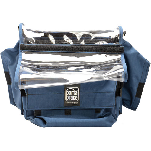 Porta Brace AO-FLEX4 Audio Organizer (Blue)