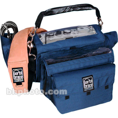 Porta Brace AR-PD6 Audio Recorder Case (Blue)