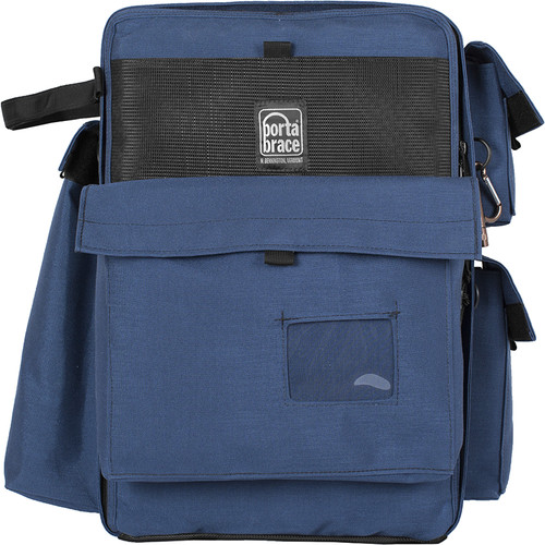 Porta Brace BC-2N Large D-SLR Backpack Camera Case (Signature Blue)