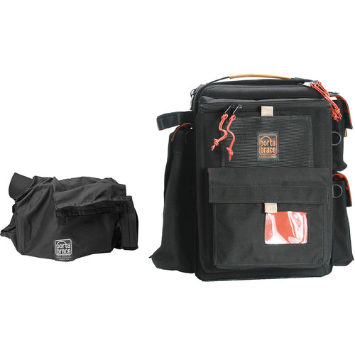Porta Brace BK-1NRQS-M4 Backpack Kit (Black with Red Trim)