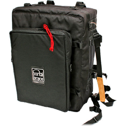 Porta Brace BK-2EXL Backpack Camera Case - Extreme Laptop (Black)