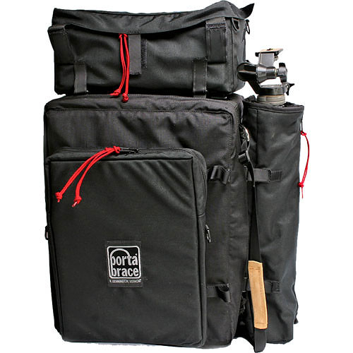 Porta Brace BK-2EXP Backpack Camera Case - Extreme Package (Black)