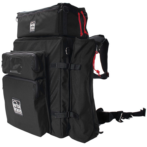Porta Brace BK-3EXP Modular Backpack Extreme Version with All Modules (Black)