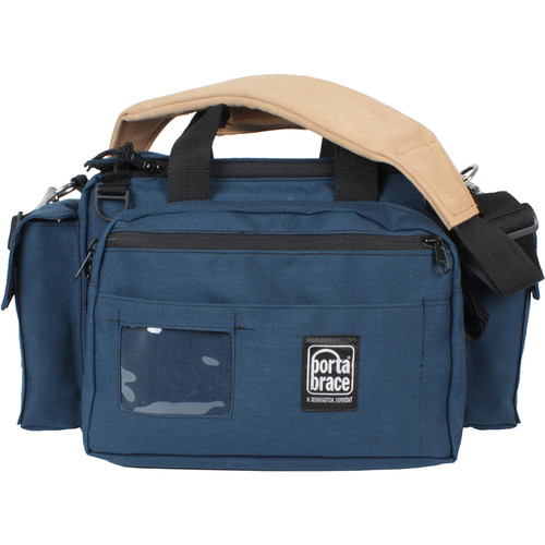 Porta Brace CAR-1 Cargo Case for Camcorder and Accessories (Blue)