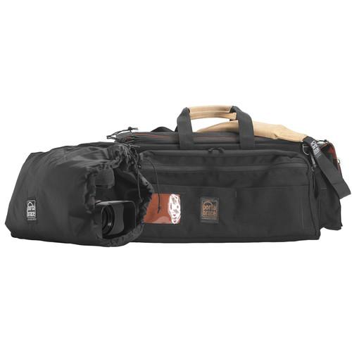 Porta Brace CAR-3 Rigid Frame Cargo Case with BK-ZC Padded Camera Pouch (Black)