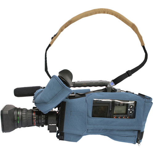 Porta Brace CBA-HPX2000 Camera BodyArmor for Panasonic AJ-HPX2000/2001 (Blue)