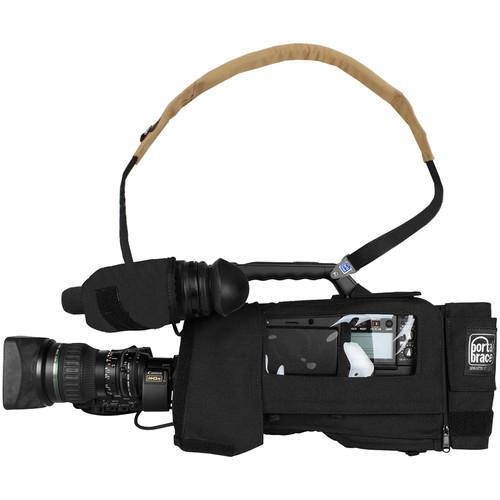 PortaBrace CBA-HPX3100B Camera BodyArmor for Panasonic AJ-HPX3100 (Black)