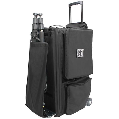Porta Brace CC-HD20R Rolling Quick Draw Case (Black)