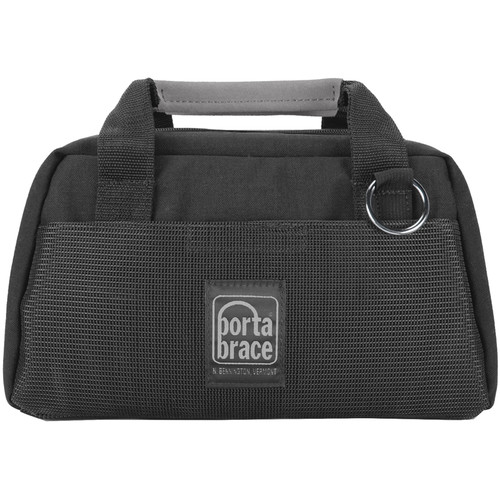 Porta Brace CS-DC1R Digital Camera Carrying Case (Black with Black String)