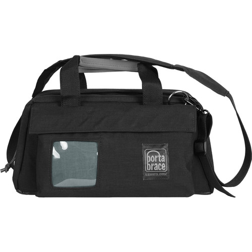 Porta Brace CS-DC2R Digital Camera Carrying Case (Black with Copper String)