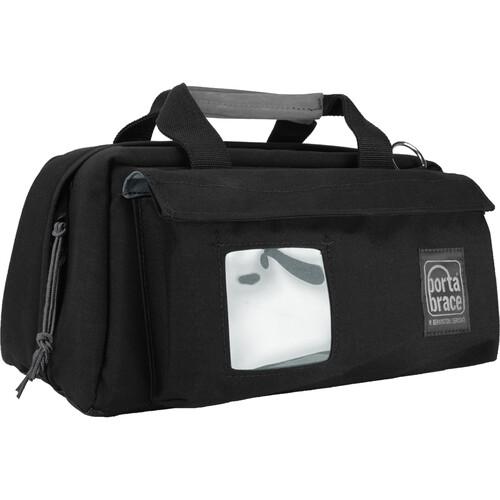 Porta Brace CS-DV2R Mini-DV Camcorder Case (Black with Copper String)