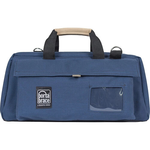 Porta Brace CS-DV3UQS-M3 Mini-DV Camera Case w/ QS-M3 Quick Slick (Signature Blue)