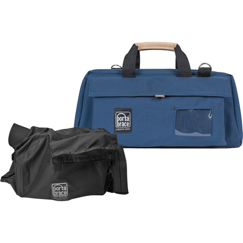 Porta Brace CS-DV3UQS-M3 Mini-DV Camera Case w/ QS-M4 Quick Slick (Signature Blue)