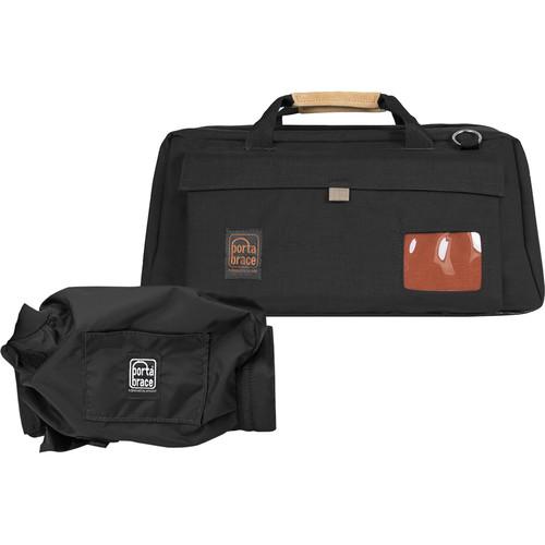 Porta Brace CS-DV4RQS-M3 Mini-DV Camera Case with QS-M3 Mini Quick Slick (Black with Copper String)