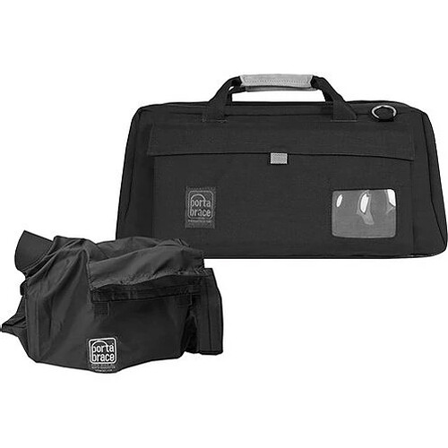 PortaBrace CS-DV4RQS-M4 Mini-DV Camera Case with QS-M4 Mini Quick Slick (Black with Copper String)