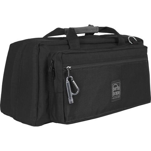 Porta Brace CS-DV4RQS-M4 Mini-DV Camera Case with QS-M4 Mini Quick Slick (Black with Copper String)