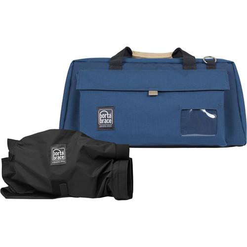 Porta Brace CS-DV4UQS-M3  Mini-DV Camera Case with QS-M3 Mini Quick Slick (Signature Blue)