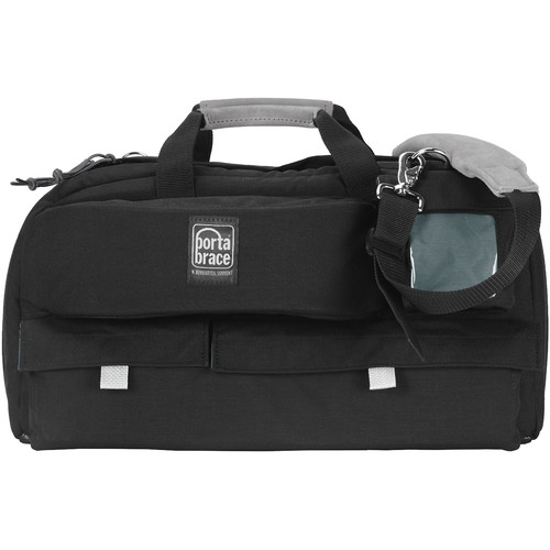 Porta Brace CTC-2 Traveler Camera Case (Black with Red Trim)