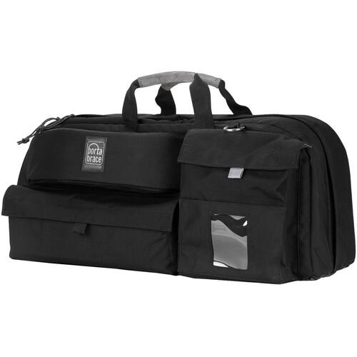 Porta Brace CTC-4 Traveler Camera Case (Black with Red Trim)