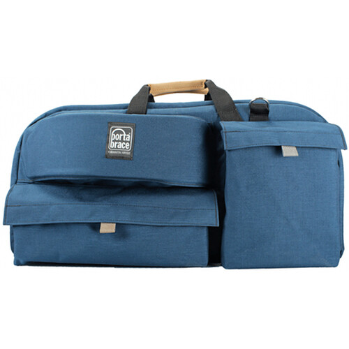 Porta Brace CTC-5 Traveler Camera Case (Signature Blue)