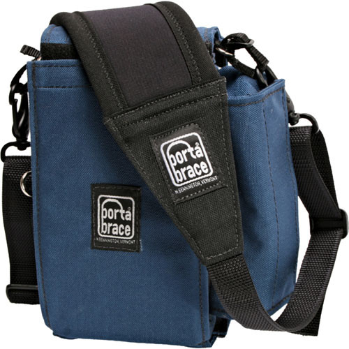Porta Brace C-P2GEAR Carrying Case (Signature Blue) for Panasonic AG-HPG10/20
