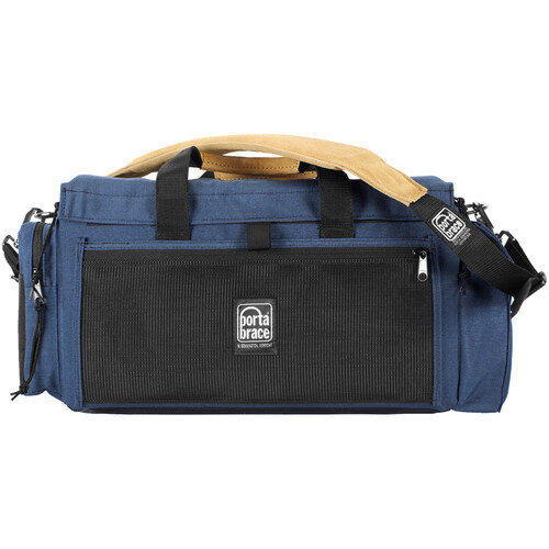 Porta Brace DV Organizer Case with QS-M3 Mini Rain Slick (Signature Blue)