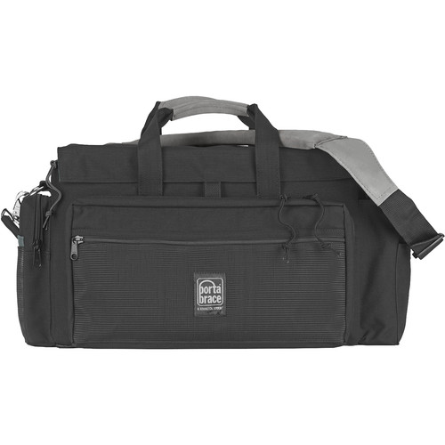 Porta Brace DVO-2 DV Organizer Camera Case (Black with Copper Trim)